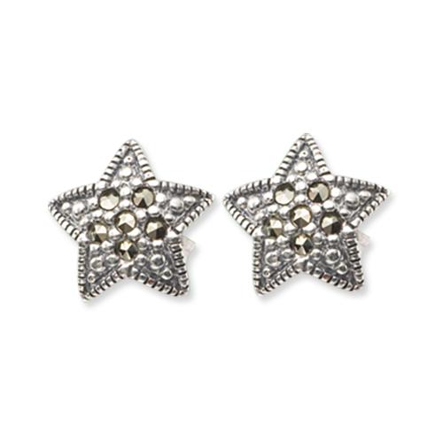 marcasite earring HE0385 1