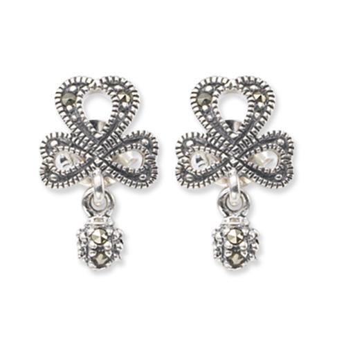 marcasite earring HE0399 1