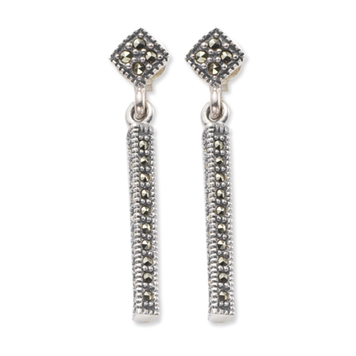 marcasite earring HE0404 1