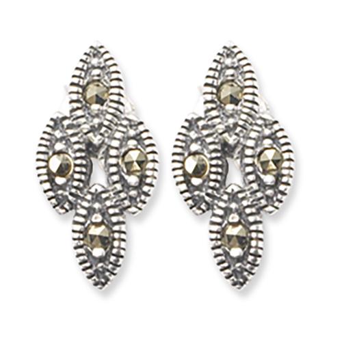 marcasite earring HE0411 1