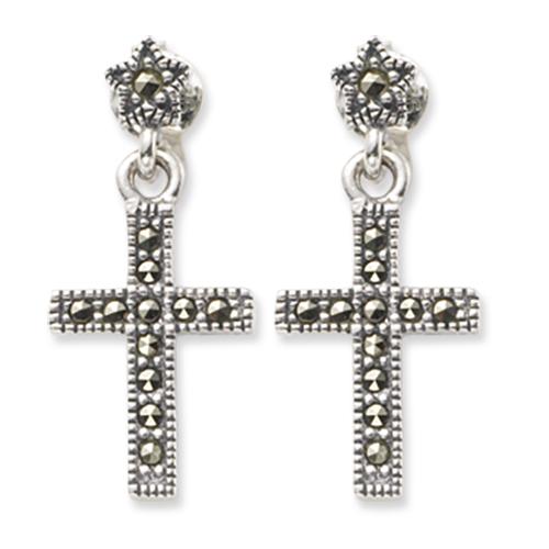 marcasite earring HE0412 1