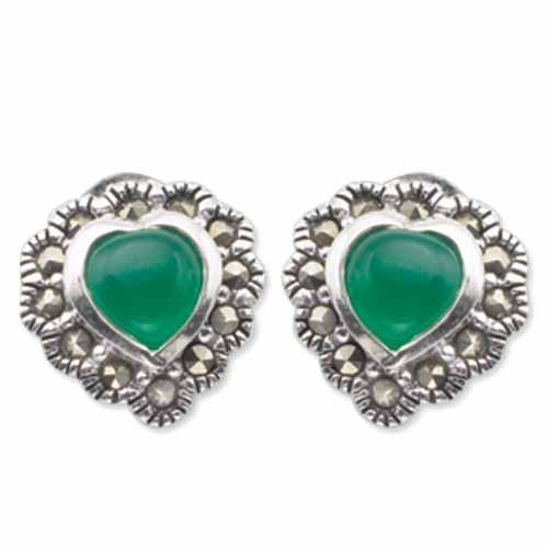 marcasite earring HE0413 1