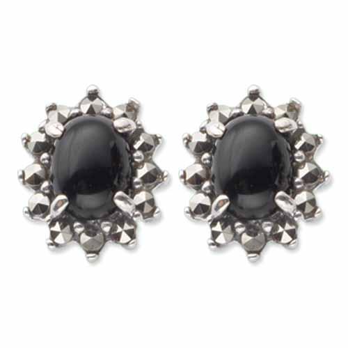 marcasite earring HE0420 1