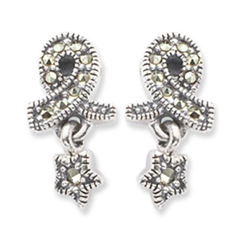 marcasite earring HE0421 1
