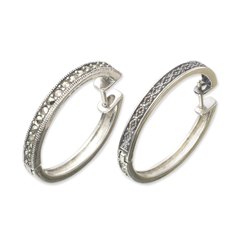 marcasite earring HE0432 M 1