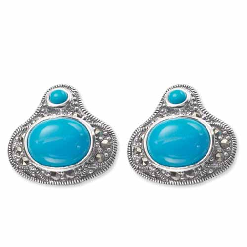 marcasite earring HE0469 1