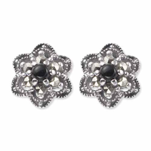 marcasite earring HE0471 1