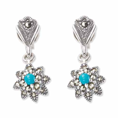 marcasite earring HE0472 1