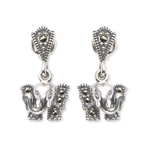 marcasite earring HE0474 1