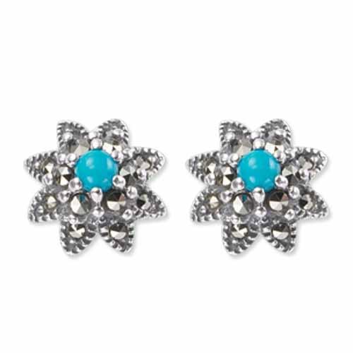 marcasite earring HE0476 1