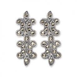 marcasite earring HE0482 1