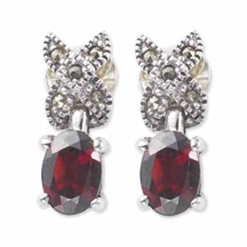 marcasite earring HE0499 1