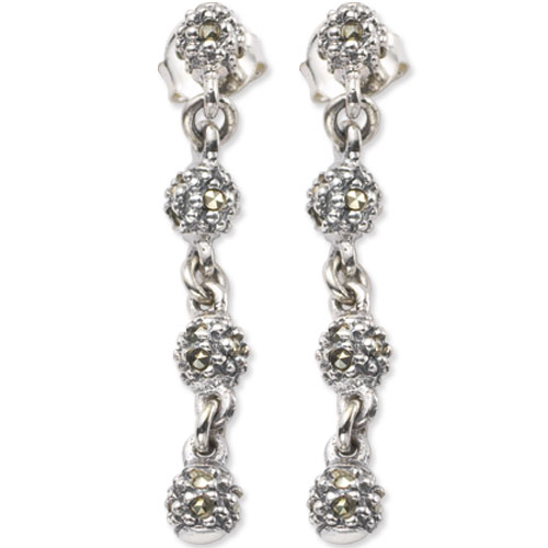 marcasite earring HE0510 1