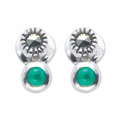 marcasite earring HE0512 1