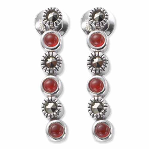 marcasite earring HE0531 1