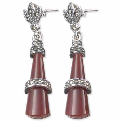 marcasite earring HE0534 1