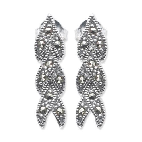 marcasite earring HE0538 1