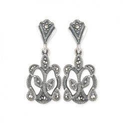 marcasite earring HE0545 1