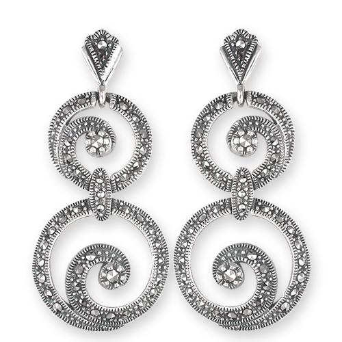 marcasite earring HE0555 1