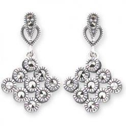 marcasite earring HE0562 1