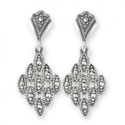 marcasite earring HE0569 1