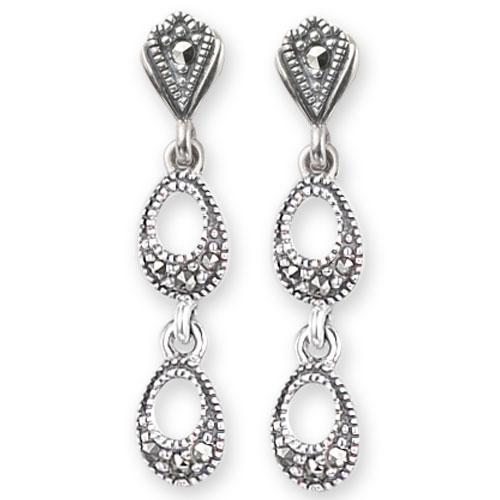 marcasite earring HE0581 1