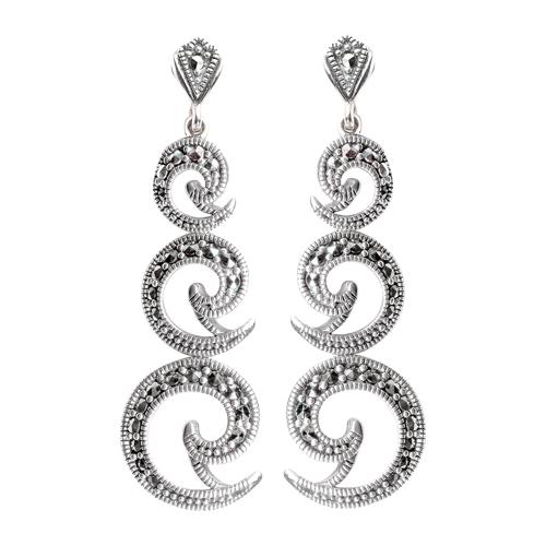 marcasite earring HE0589 1