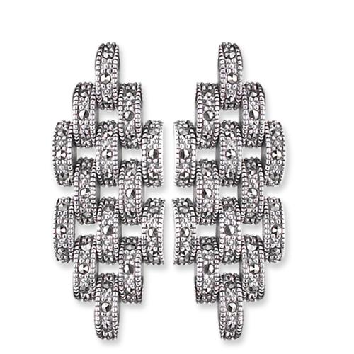 marcasite earring HE0602 1