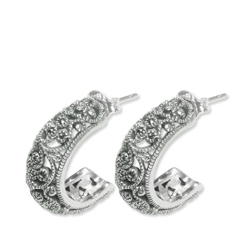 marcasite earring HE0613 1