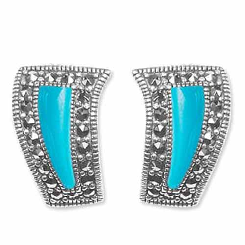 marcasite earring HE0618 1