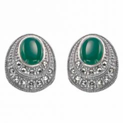 marcasite earring HE0620 1