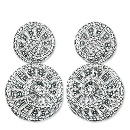 marcasite earring HE0632 1