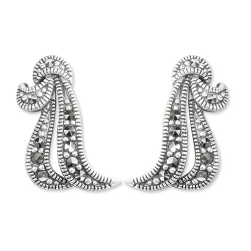marcasite earring HE0638 1