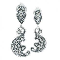 marcasite earring HE0664 1