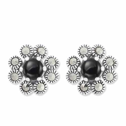 marcasite earring HE0665 1