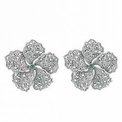 marcasite earring HE0666 1