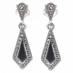 marcasite earring HE0670 1