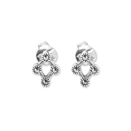 marcasite earring HE0671 1