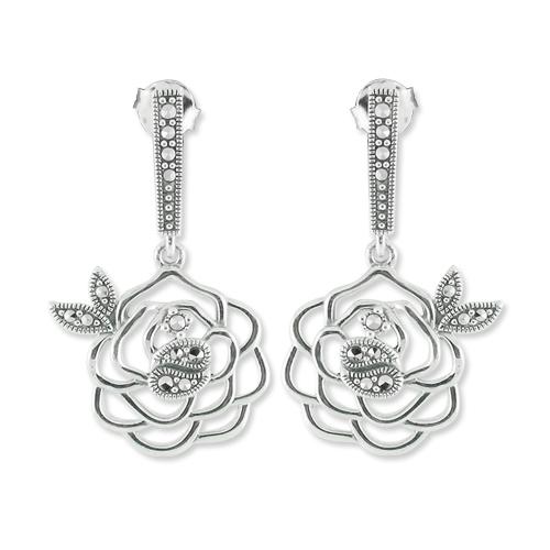 marcasite earring HE0674 1