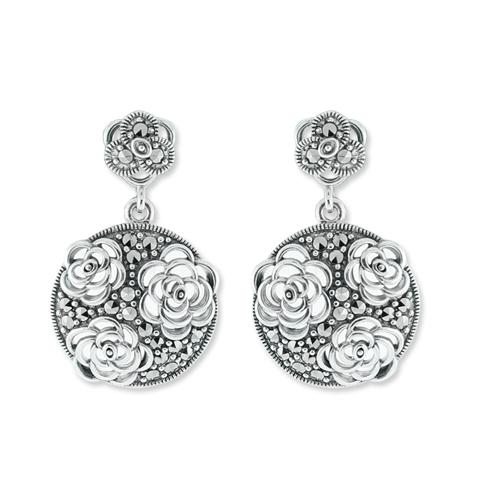 marcasite earring HE0676 1