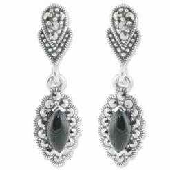 marcasite earring HE0683 1