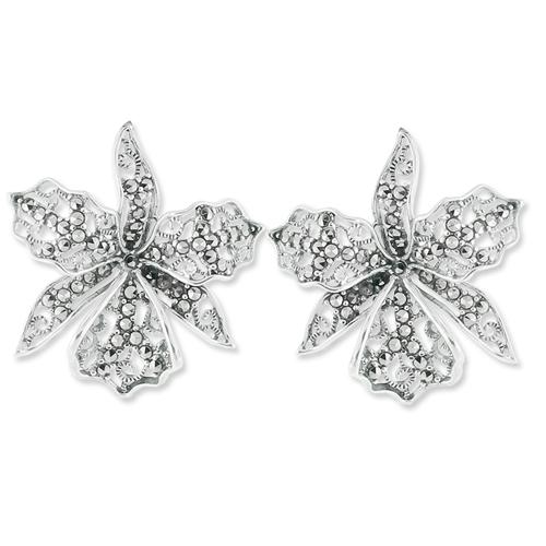 marcasite earring HE0689 1