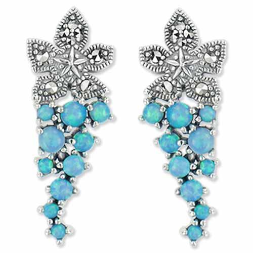 marcasite earring HE0697 1