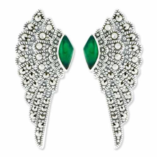 marcasite earring HE0707 1