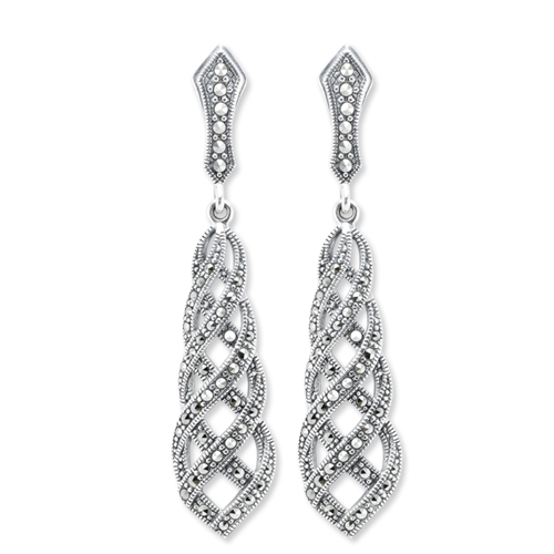 marcasite earring HE0742 1