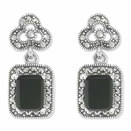 marcasite earring HE0779 1