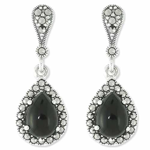 marcasite earring HE0781 1