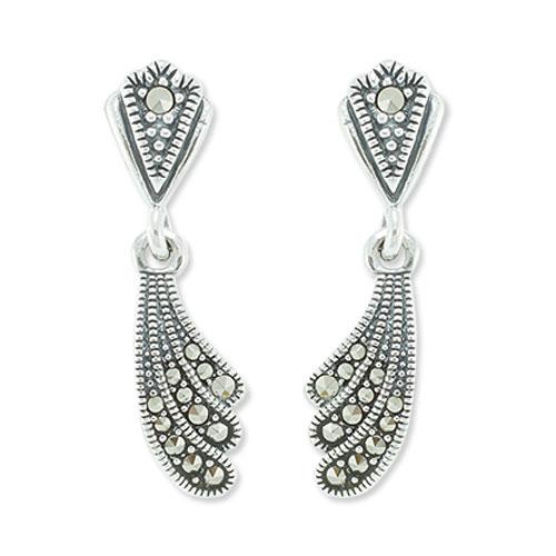 marcasite earring HE0786 1