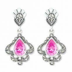 marcasite earring HE0792 1