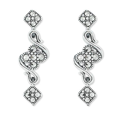 marcasite earring HE0799 1